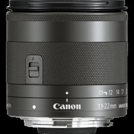 Canon EF-M 11-22mm f/4-5.6 IS STM  (inkl.UV Filter)