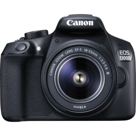 Canon EOS 1300D Kit inkl. EF-S 18-55 mm 3,5-5,6 IS II + Tasche