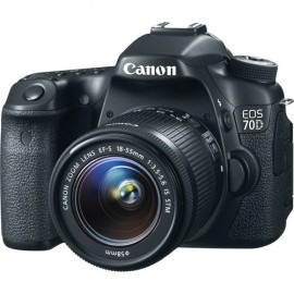 Canon - EOS 70D Kit inkl. EF-S 3,5-5,6 / 18-55 mm IS STM
