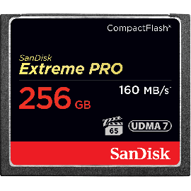 SanDisk Extreme Pro CF 256GB 160MB/s
