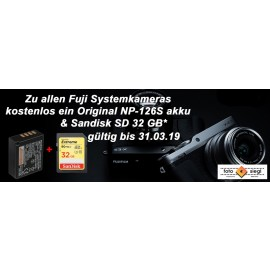 Fujifilm X-H1 + XF16-55mm  inkl. zusatz akku NP-F 126S + SD 32 GB
