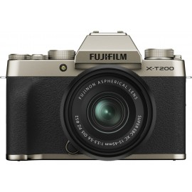Fujifilm X-T200 + XC 15-45mm darkSilber