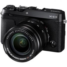 Fujifilm X-E3 Body Schwarz + xf 50mm 2.0 R WR silber