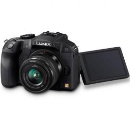 Panasonic LUMIX DMC-G6K Kit + 14-42mm  OIS Schwarz inkl. SanDisk Extreme SDHC 32GB