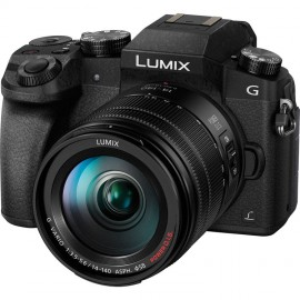 Panasonic LUMIX DMC-G70H Kit + 14-140mm OIS Schwarz inkl. SanDisk Extreme Plus SDHC 32GB