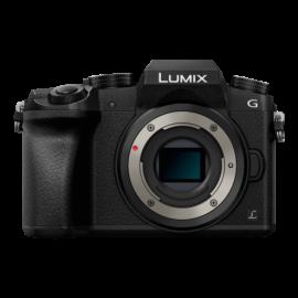 Panasonic LUMIX DMC-G70 Body Schwarz inkl. SanDisk Extreme SDHC 32GB