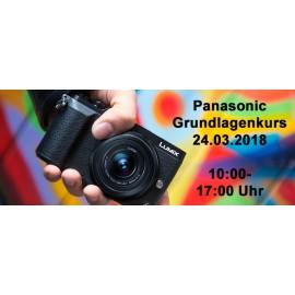 Panasonic Grundlagenkurs am 24.03.2018
