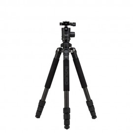 INDURO GTT104M1 Stealth Carbon Fiber Tripod Kits - 4 Sections