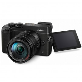 Panasonic LUMIX DMC-GX80H Kit + 14-140mm OIS Schwarz inkl. SanDisk Extreme Plus SDHC 32GB