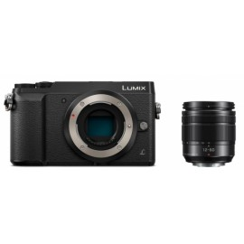Panasonic DMC-GX80 schwarz + Lumix G HF-S 12-60mm f3,5-5,6 Asph. inkl. SanDisk Extreme Plus SDHC 32GB