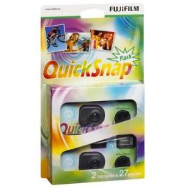 Fuji - Quick Snap 400 27 Flash 2er Pack