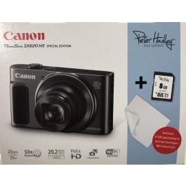 Canon PowerShot SX620 HS weiß inkl.SD Speicher und Reinigungstuch