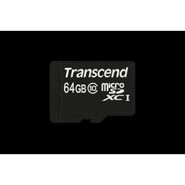 Transcend microSDHC 64GB Class 10 + SD-Adapter