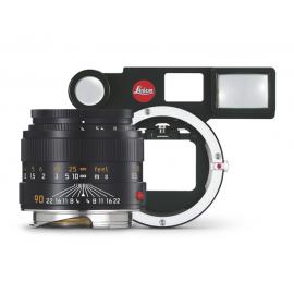 Leica Macro-Set-M (Leica Macro-Elmar-M 1:4/90mm schwarz eloxiert, Leica Winkelsucher M, Macro-Adapte