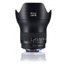 ZEISS - Milvus 2.8/18 ZF.2 Nikon