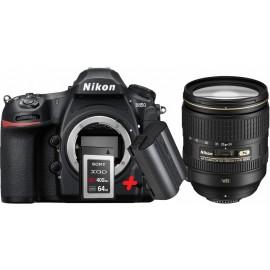 Nikon D850 Kit + 24–120 mm 1:4 VR inkl. XQD 64 GB & Nikon zusatzakku EN-EL15b