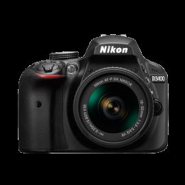 Nikon D 3400 Kit schwarz + AF-P 18-55 VR + AF-P 70-300 ED VR