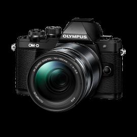Olympus OM-D E-M10 Mark II Kit inkl. ED 4,0-5,6 / 14-150 mm II schwarz inkl. SanDisk Ultra 533x 32 GB SD UHS-I Karte