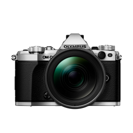 Olympus OM-D E-M5 Mark II Kit + 12-40mm Silber inkl. SanDisk Ultra 533x 32 GB SD UHS-I Karte