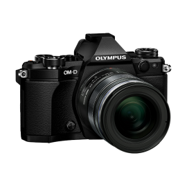 Olympus OM-D E-M5 Mark II Kit + 12-50mm Schwarz inkl.SanDisk Ultra 533x 32 GB SD UHS-I Karte