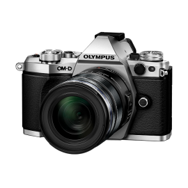 Olympus OM-D E-M5 Mark II Kit + 12-50mm Silber inkl. SanDisk Ultra 533x 32 GB SD UHS-I Karte