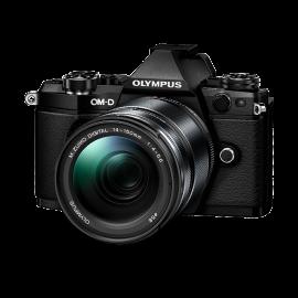 Olympus OM-D E-M5 Mark II Kit + 14-150mm II Schwarz inkl. SanDisk Ultra 533x 32 GB SD UHS-I Karte