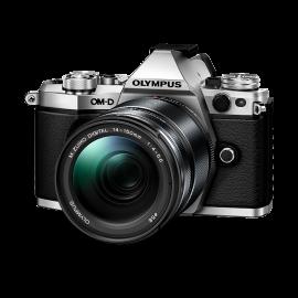 Olympus OM-D E-M5 Mark II Kit + 14-150mm II Silber inkl. SanDisk Ultra 533x 32 GB SD UHS-I Karte