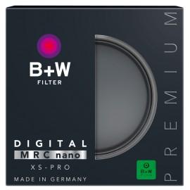 B+W  XS-PRO 007 CLEAR MRC NANO 62 mm