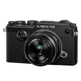 Olympus PEN-F Kit + 17mm Schwarz  inkl.SanDisk Ultra 533x 32 GB SD UHS-I Karte