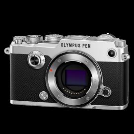 Olympus PEN-F Gehäuse Silber  inkl.SanDisk Ultra 533x 32 GB SD UHS-I Karte