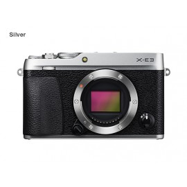 Fujifilm X-E3 Body Silber + xf 23mm 2.0 R WR silber