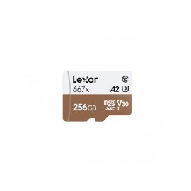 Lexar microSDXC Card 256GB High-Performance 667x UHS-I U3