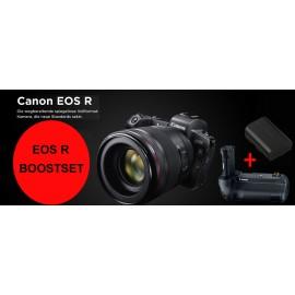 Canon EOS R Kit RF 24-105 L + Bajonettadapter EF-EOS R + CANON LP E 6 N Ersatzakku + Canon BG-E22 Batteriehandgriff  ( (-200,00€ SOFORT-RABATT -200,00€ EINTAUSCH-PRÄMIE) )