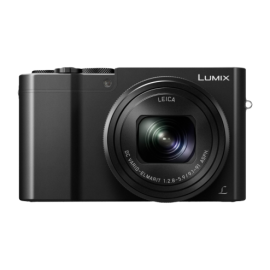 Panasonic LUMIX DMC-TZ101 schwarz  inkl. SD 32 GB (4K)