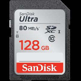 SANDISK ULTRA 80MB/S SDHC 128GB