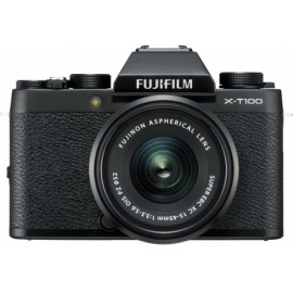 Fujifilm X-T100 + XC 15-45mm schwarz  - 100 € Cashback von Fujifilm