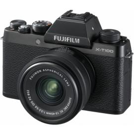 Fujifilm X-T100 + XC 15-45mm + 50-230mm schwarz    100 € Cashback von Fujifilm