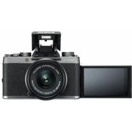 Fujifilm X-T100 + XC 15-45mm silber  i- 100 € Cashback von Fujifilm