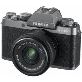 Fujifilm X-T100 + XC 15-45mm + 50-230 silber  - 100 € Cashback von Fujifilm