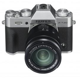 Fujifilm X-T20 Kit + XC 16-50mm OIS II + XC 50-230mm OIS II silber