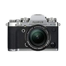 Fujifilm X-T3  Body Silber  inkl. Zusatzakku NP-F 126S + SD 32 GB