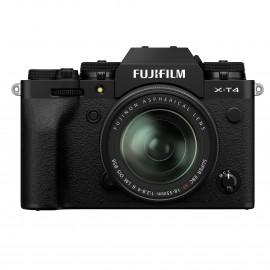 Fujifilm X-T4 Gehäuse SCHWARZ + XF18-55mm Kit    Fuji-Cashback 200€