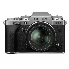 Fujifilm X-T4 Gehäuse SILBER + XF18-55mm Kit