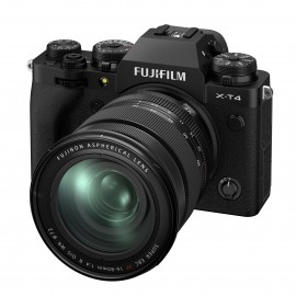 Fujifilm X-T4 Gehäuse SCHWARZ + XF16-80mm Kit    Fuji-Cashback 200€