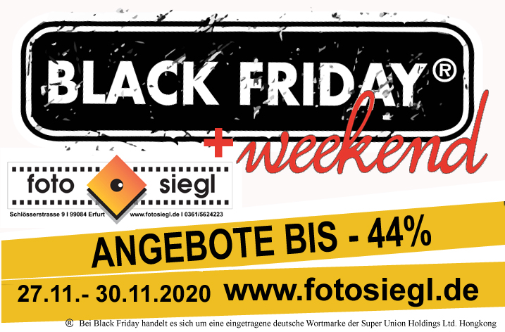Black Friday bei Fotosiegl
