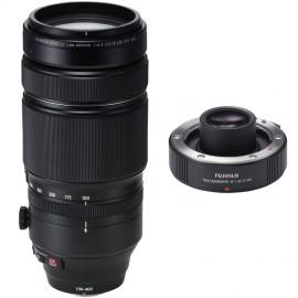 Fujifilm XF 100-400mm 1:4,5-5,6 R LM OIS WR + Telekonverter XF1,4X TC WR