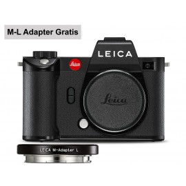 Leica SL2 schwarz  Gratis M-L Adapter