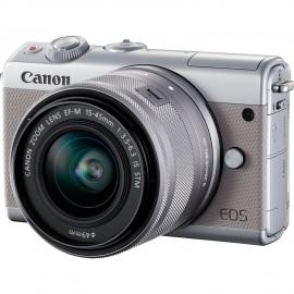 Canon EOS M 100 + EF-M 15-45 / 3.5-6.3 IS STM Grau
