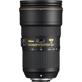 Nikon 24-70mm 1:2,8 AF-S Nikkor E ED VR inkl. 5-Jahre Nikon Garantieverlängerung