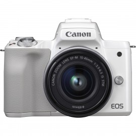 CANON EOS M 50 + EF-M 15-45 IS STM  White